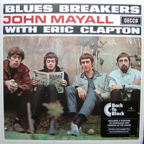 John Mayall Blues Breakers with Eric Clapton LP 2016