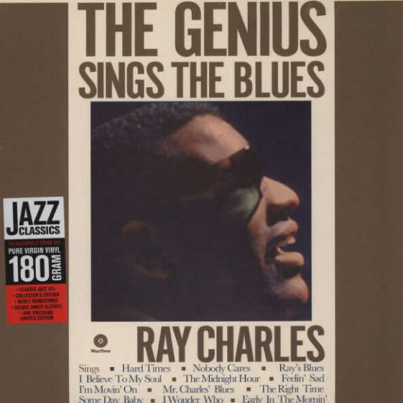Ray Charles The Genius Sings the Blues LP 2012