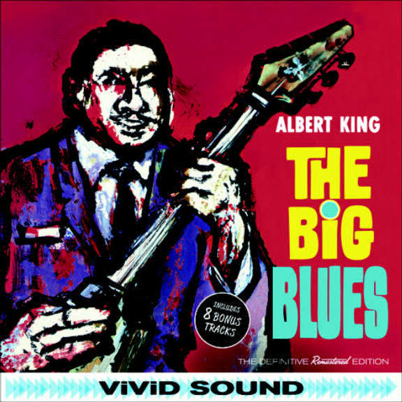 Albert King The Big Blues LP 2017