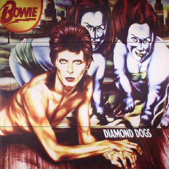 David Bowie Diamond Dogs LP 2017