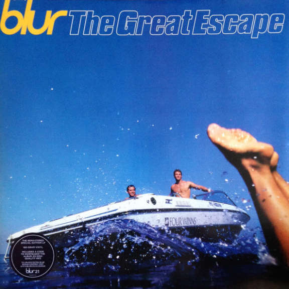 Blur The Great Escape LP 2012