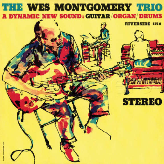 Wes Montgomery A Dynamic New Sound: Guitar/Organ/Drums LP 2016