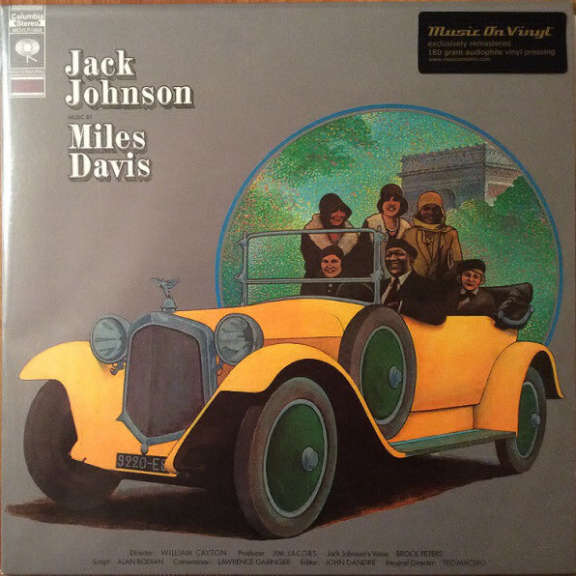 Miles Davis Jack Johnson LP 2017