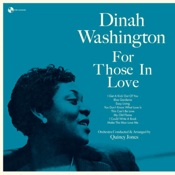 Dinah Washington For Those in Love LP 2016