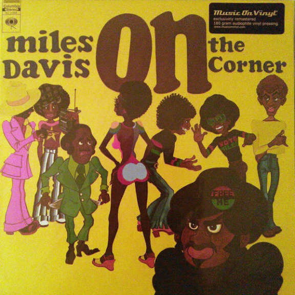 Miles Davis On the Corner LP 2012