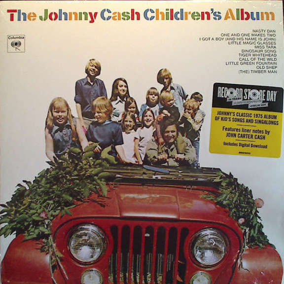 Johnny Cash The Johnny Cash Children's Album LP 0