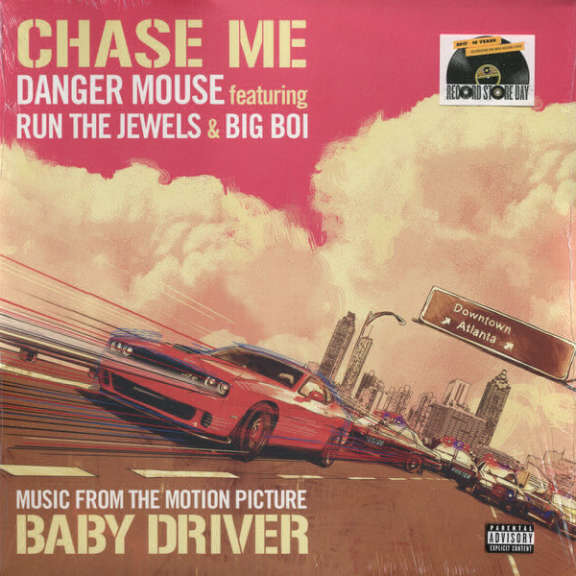"Danger Mouse ft. Run The Jewels & Big Boi ‎ Chase Me 12""    LP 2017"