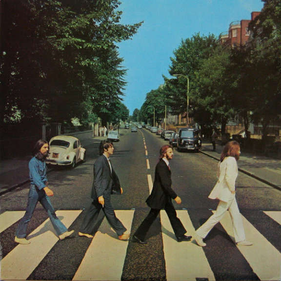 Beatles Abbey Road LP 0