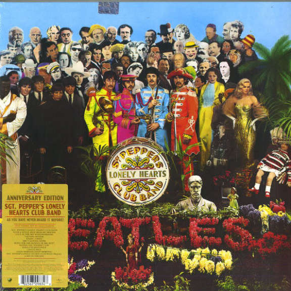 Beatles Sgt. Pepper's Lonely Hearts Club Band LP 2017