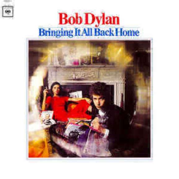 Bob Dylan Bringing It All Back Home LP 2015