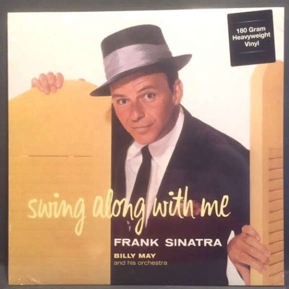Frank Sinatra Swing Along with Me LP 2015