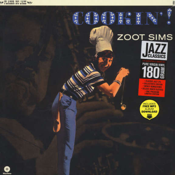 Zoot Sims Cookin'! LP 2015
