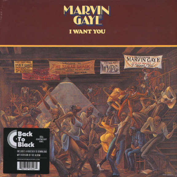 Marvin Gaye I Want You LP 2016