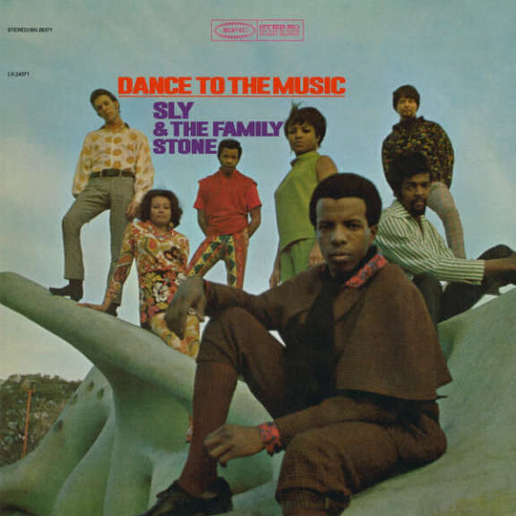 Sly & the Family Stone Dance to the Music LP 2015
