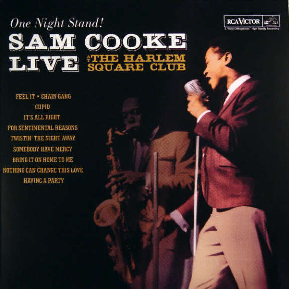 Sam Cooke One Night Stand! At the Harlem Square Club LP 2010