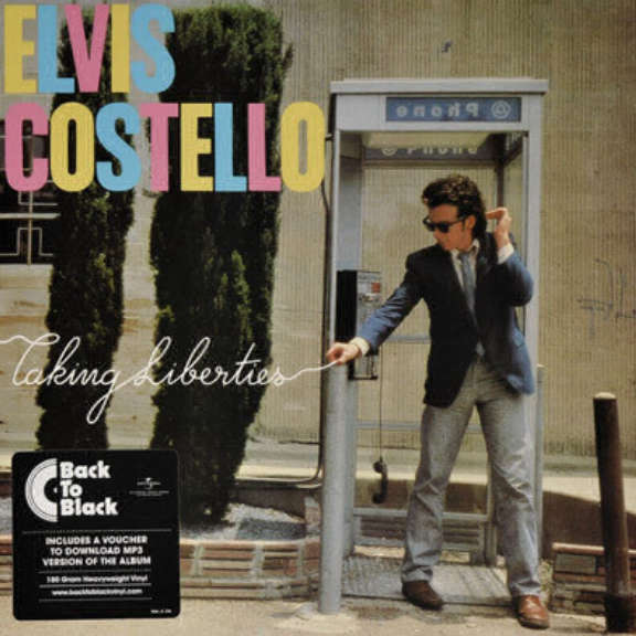 Elvis Costello Taking Liberties LP 2015