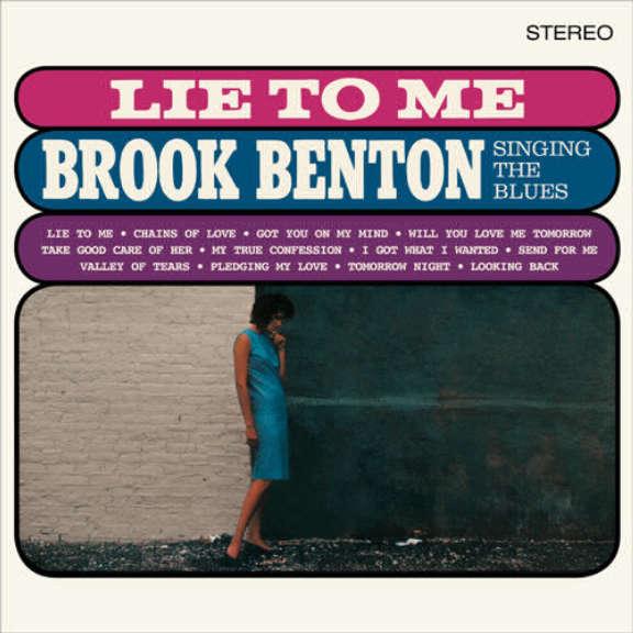 Brook Benton Lie to Me - Singing the Blues LP 2016