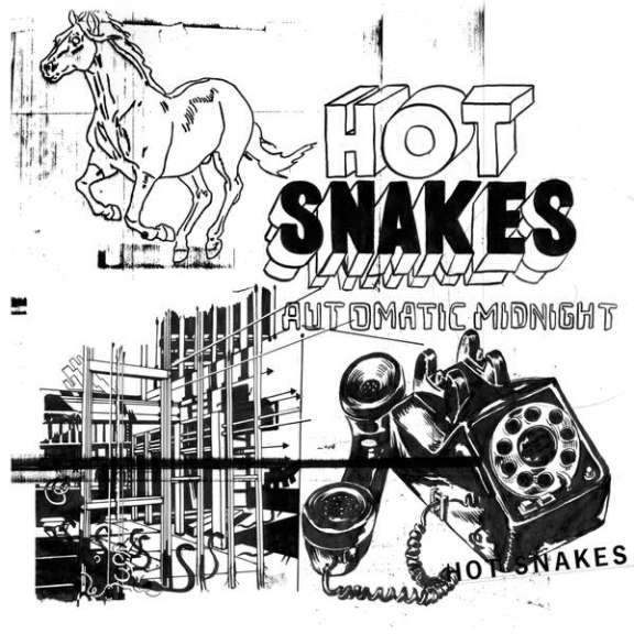 Hot Snakes Automatic Midnight (coloured vinyl) LP 2018