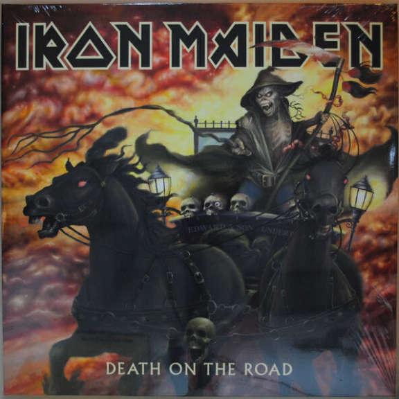 Iron Maiden Death On The Road LP 2017
