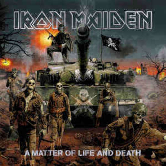 Iron Maiden A Matter Of Life And Death LP 2017