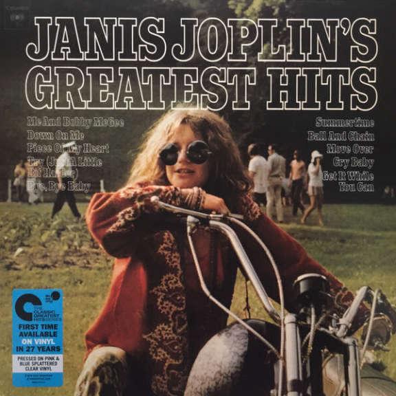 Janis Joplin Janis Joplin's Greatest Hits (clear vinyl) LP 2017
