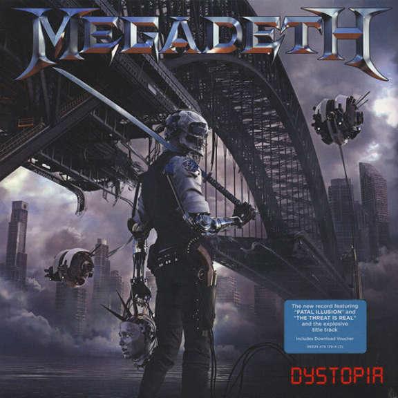Megadeth Dystopia LP 2016