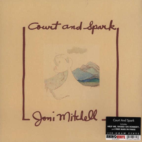 Joni Mitchell Court And Spark LP 2013