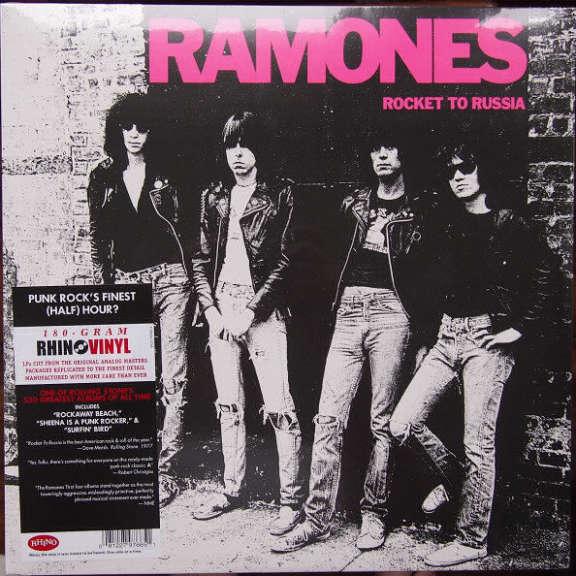 Ramones Rocket to Russia LP 2018