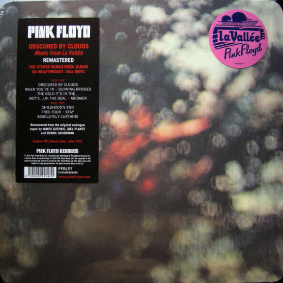 Pink Floyd Obscured By Clouds LP 2016