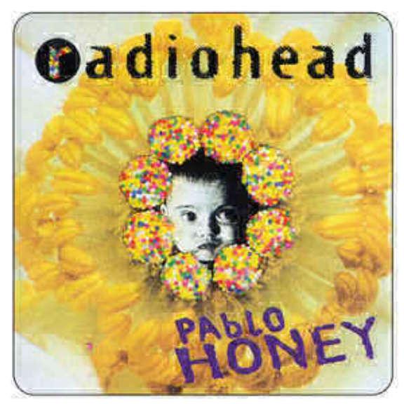 Radiohead Pablo Honey LP 2016