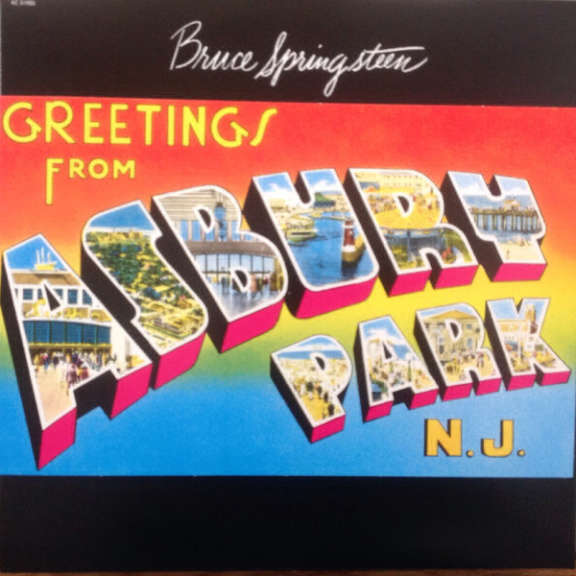 Bruce Springsteen Greetings From Asbury Park, N.J. LP 2015