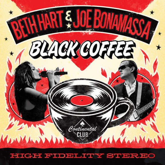 Beth Hart & Joe Bonamassa Black Coffee LP 2018