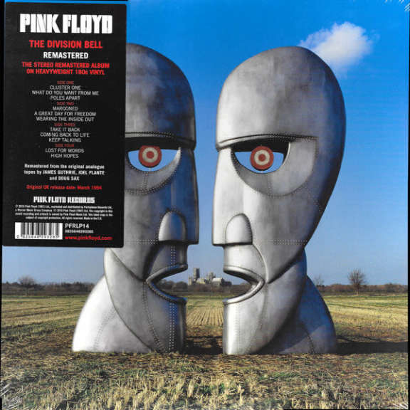 Pink Floyd The Division Bell LP null