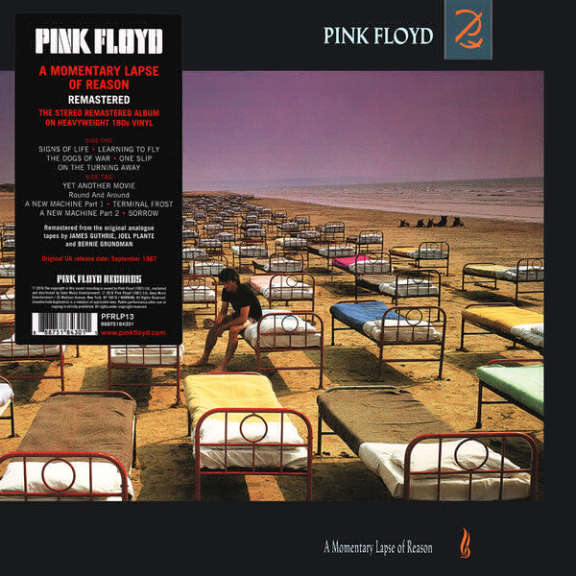 Pink Floyd A Momentary Lapse of Reason LP 0