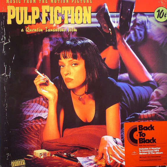 Various Music From the Motion Picture Pulp Fiction LP 0