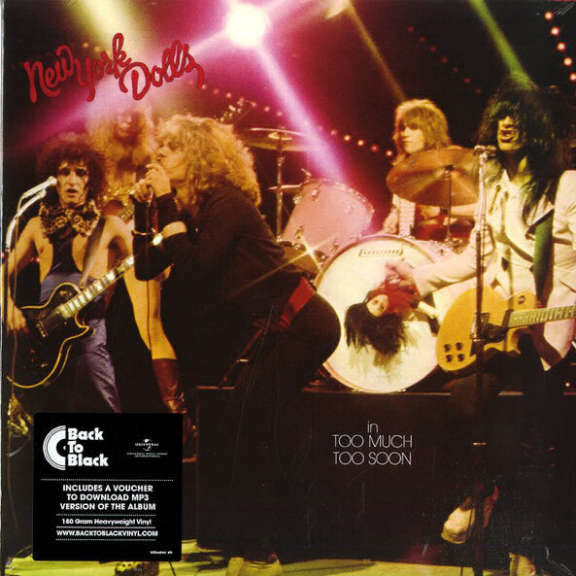 New York Dolls Too Much Too Soon LP 0
