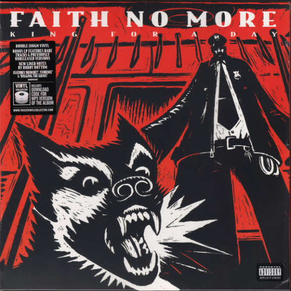 Faith No More King for a Day Fool For a Lifetime LP 0