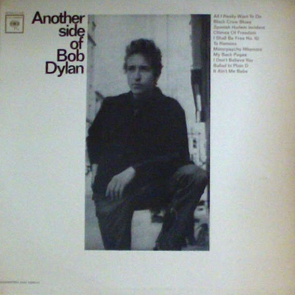 Bob Dylan Another Side of Bob Dylan LP 0