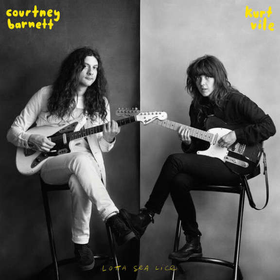 Courtney Barnett And Kurt Vile Lotta Sea Lice  LP 2017