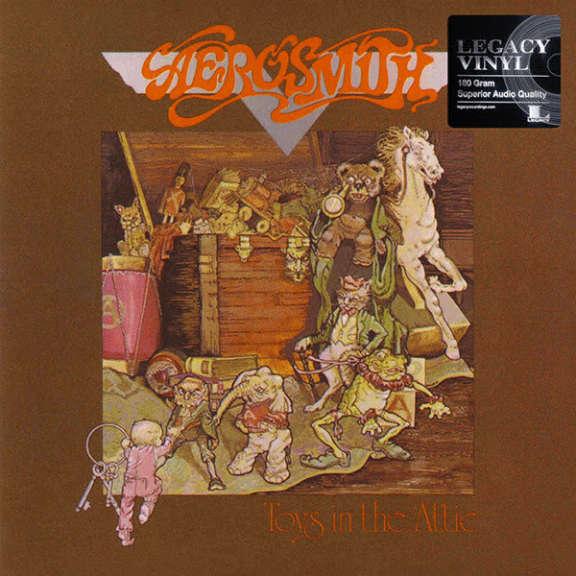Aerosmith Toys in the Attic LP 0