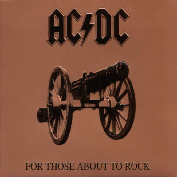 AC/DC For Those About to Rock We Salute You LP 0