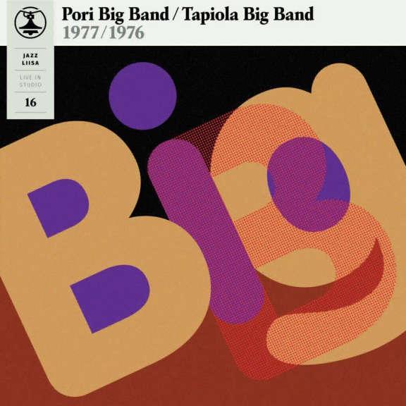 Pori Big Band / Tapiola Big Band Jazz Liisa 16 (yellow vinyl) LP 2018
