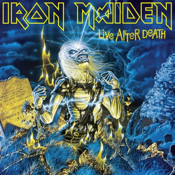 Iron Maiden Live After Death LP 0