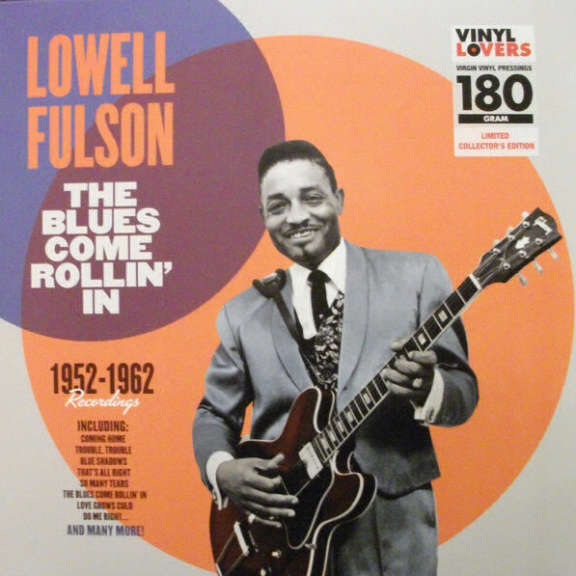 Lowell Fulson The Blues Come Rollin' In LP 2015