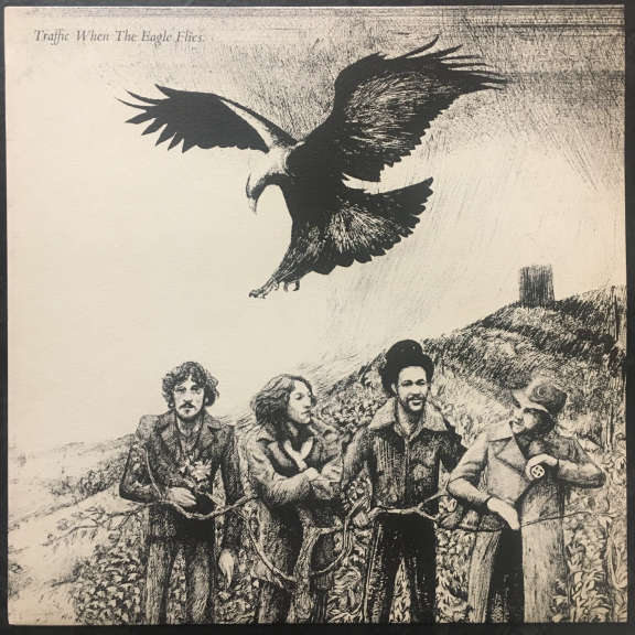 Traffic When the Eagle Flies LP 1974