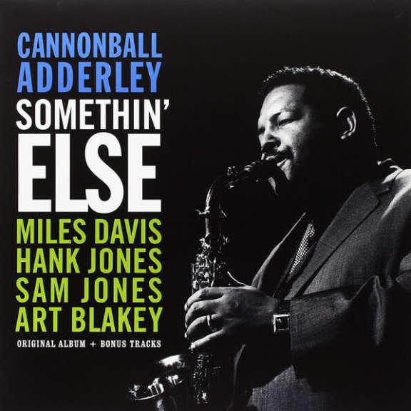 Cannonball Adderley Somethin' Else LP 0