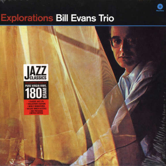 Bill Evans Trio Explorations LP 0