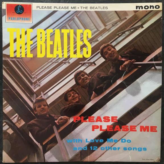 Beatles Please Please Me LP 0