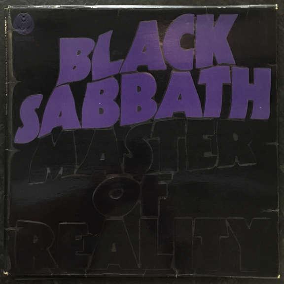 Black Sabbath Master of Reality LP 1971