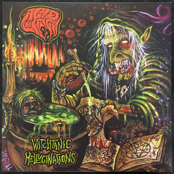 Acid Witch Witchtanic Hellucinations LP 2013